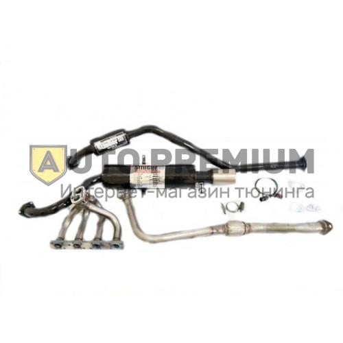 Выпускной комплект ВАЗ 2113-2114-2115 8V, глушитель с насадкой